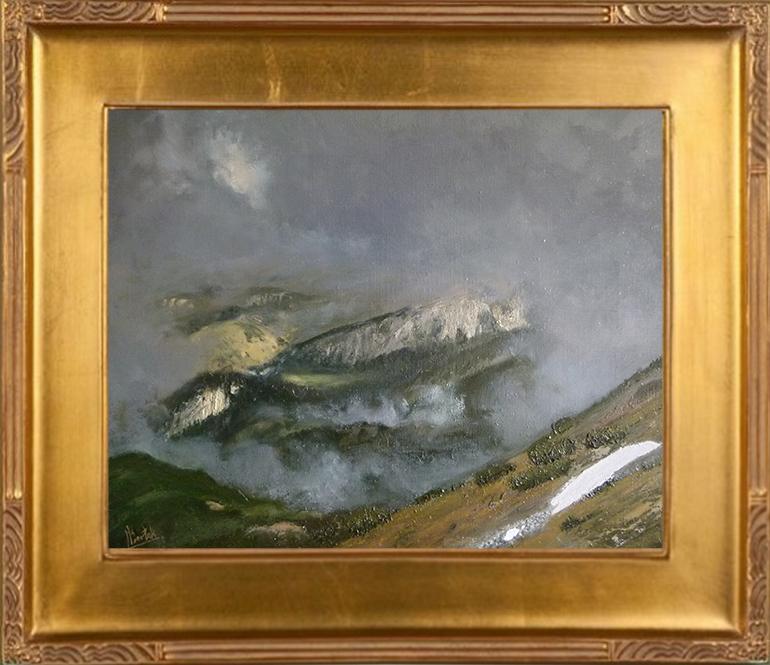 Widok z Kondradckiej Przełęczy (40x5