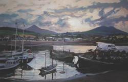 Greystones -old port (100x150)