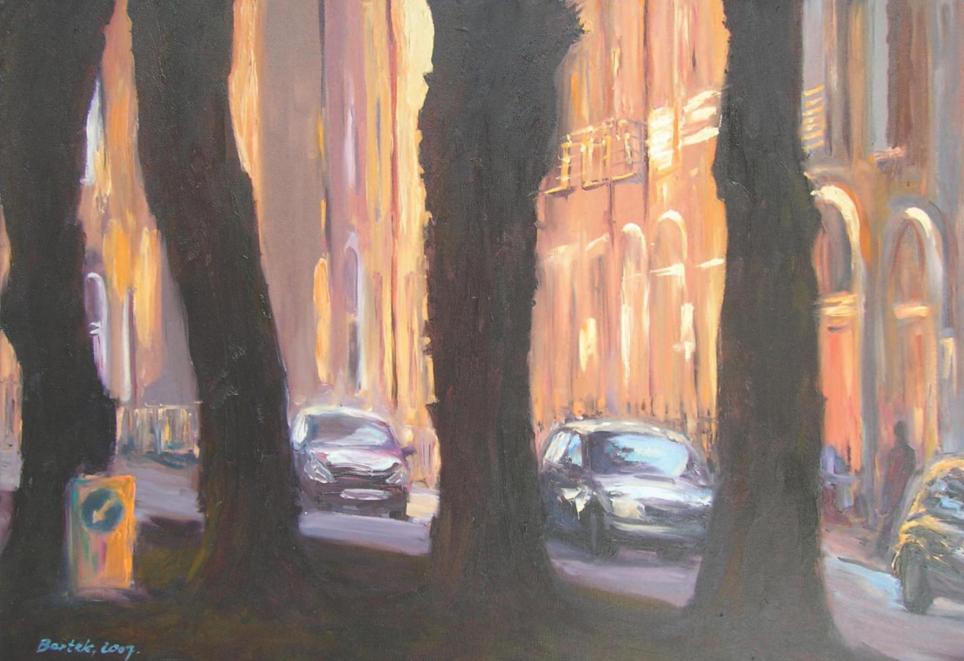 Baggot Street - The Trees (50x70)