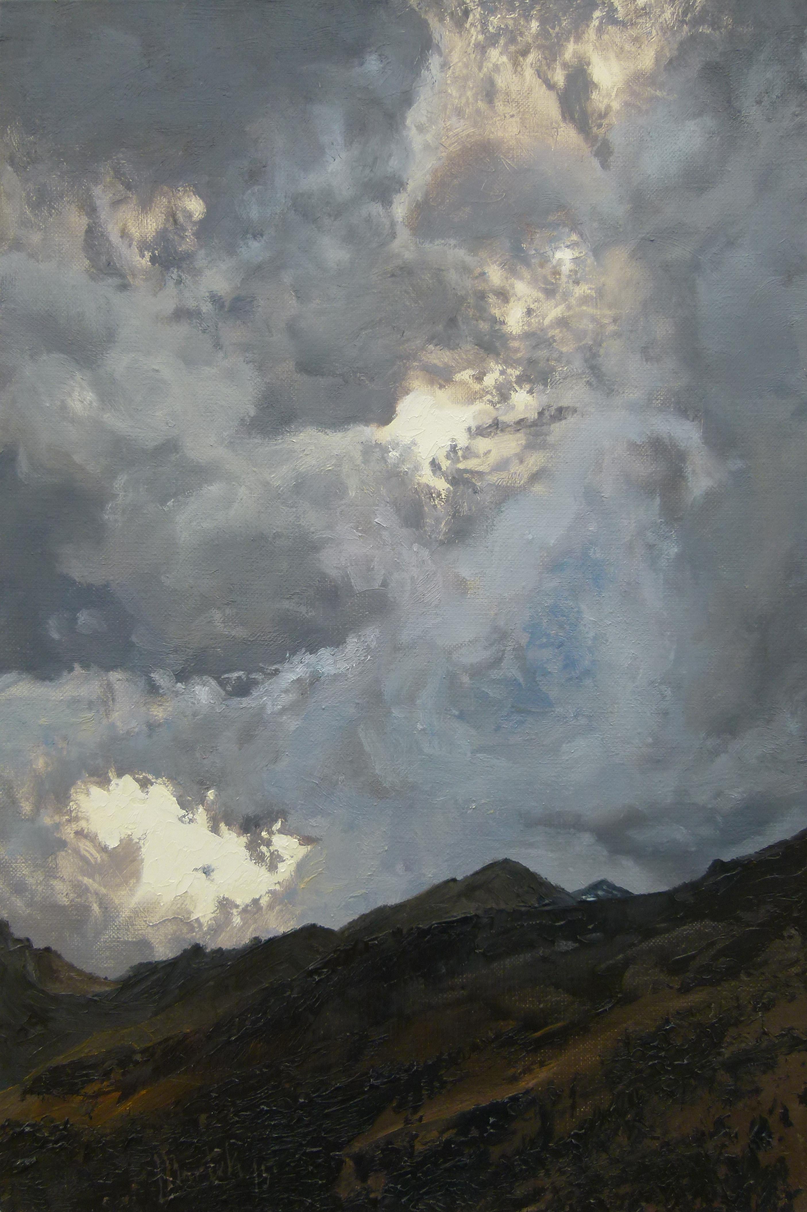 Tyrolskie niebo (41 x 27 cm)