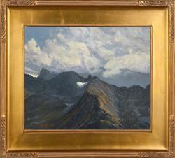 Widok Tatr Wysokich (50x61)