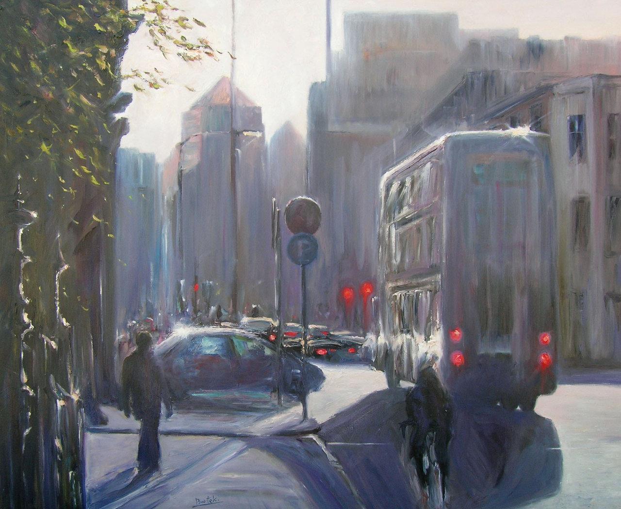 Amiens Street (100x120)