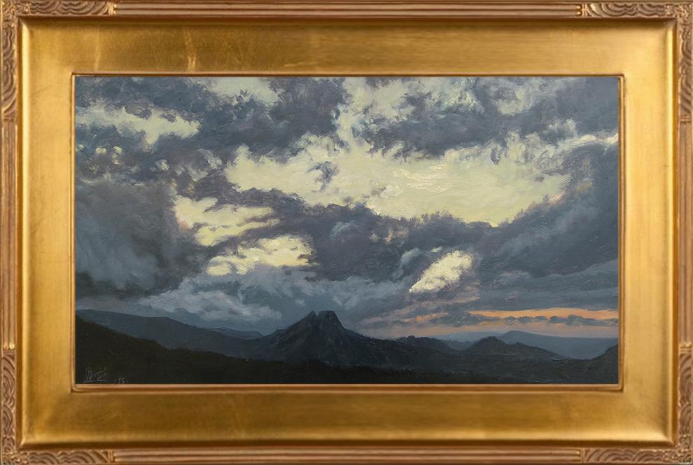 49_Zachód słońca - Giewont (40x70)