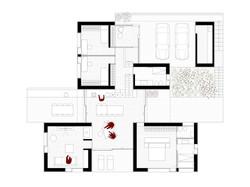 hiša visoko 2_tloris_S