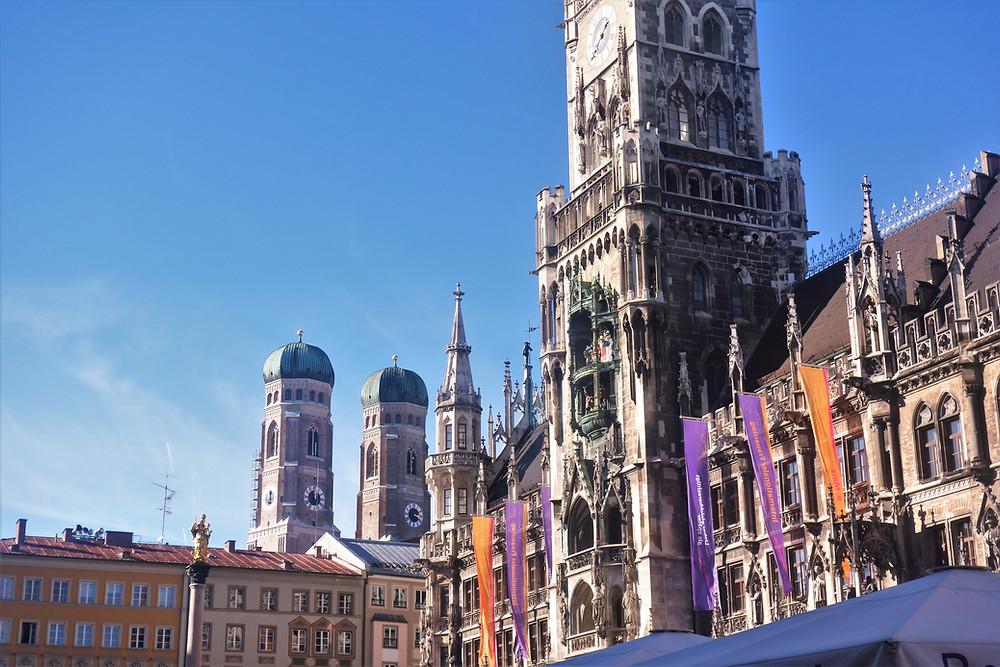 Marienplatz in Munich, photo by Victoria Mali