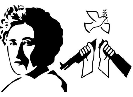 Rosa Luxemburgs Antimilitarismus als Fundament einer Politik gegen die Bundeswehr-Präsenz an Schulen