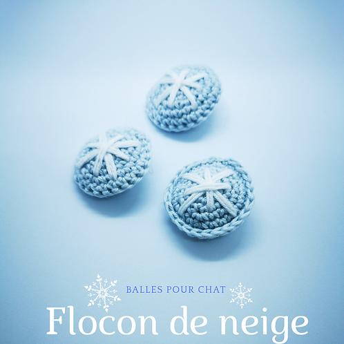 BALLE FLOCON DE NEIGE