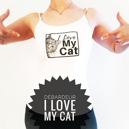 DÉBARDEUR T.S I LOVE MY CAT