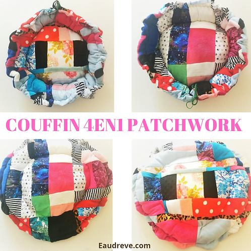 COUFFIN 4EN1 PATCHWORK