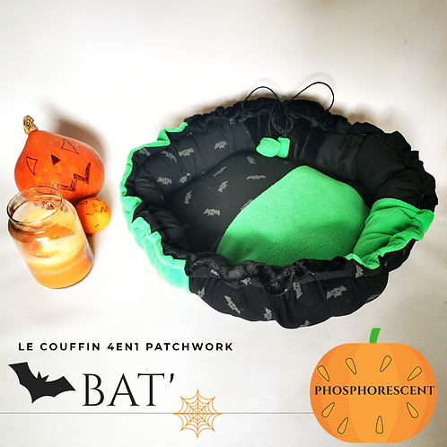 COUFFIN 4EN1 PATCHWORK PHOSPHORESCENT