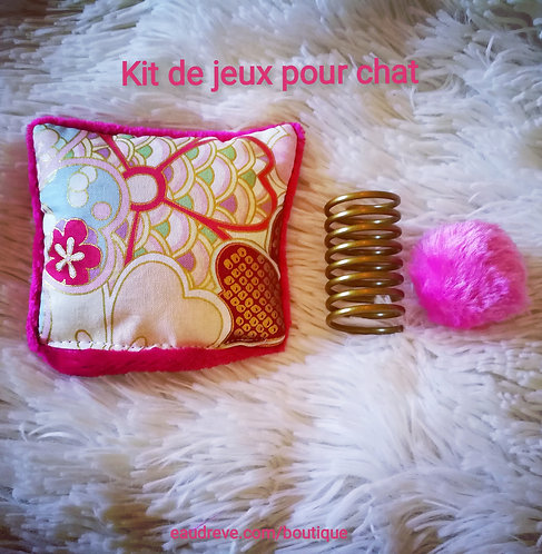 KIT DE JEUX FLOWERS TRAVEL