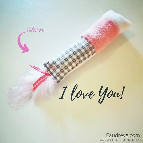 DOUDOU XXL I LOVE YOU