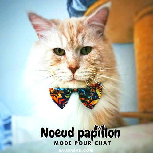 NOEUD PAPILLON POUR CHAT
