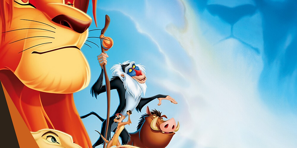 The Lion King - Saturday 01 Aug 2020