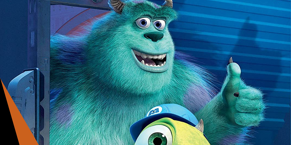 Monsters Inc - Saturday 04th September 2021 - 10am