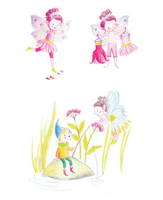 Study of fairy character, personal project