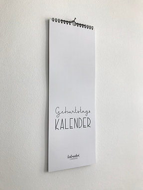 Kalender - Geburtstage