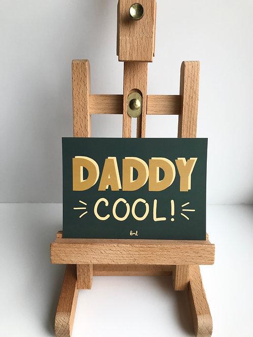 Postkarte - Daddy cool