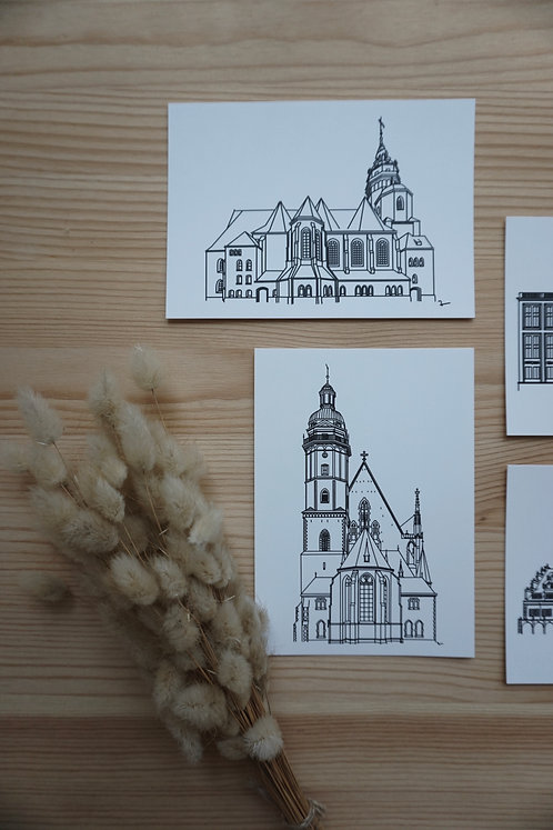 Postkarte - Leipzig