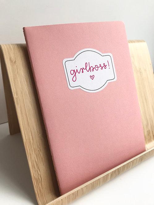 Notizheft - girlboss (rosa)