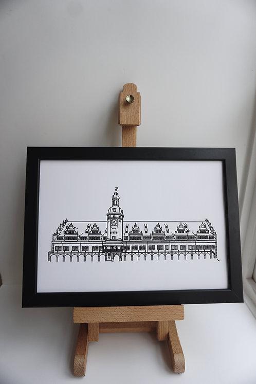 Zeichnung - Leipzig