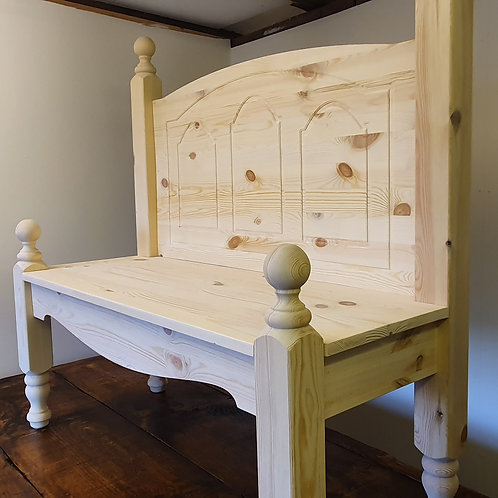 Hand Made Solid Pine Bench