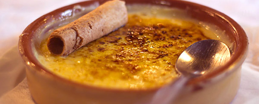 la Crème Catalane