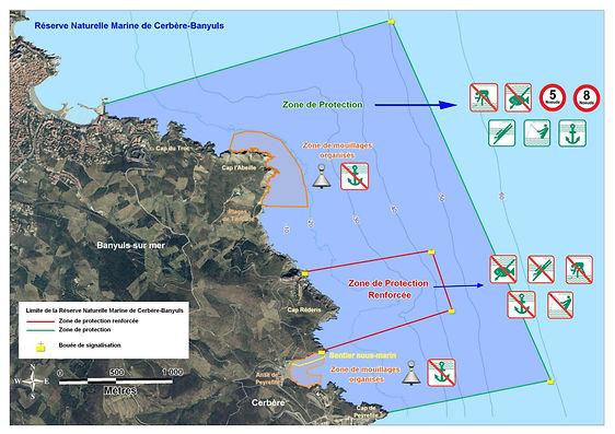 Plan Réserve Naturelle de Cerbère-Banyuls