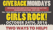 Girls Rock! Pizza Party 10/24! ((fundraiser!))