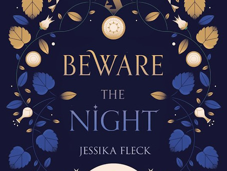 Cover Reveal: BEWARE THE NIGHT!