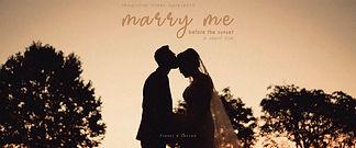 Filmagem de Casamento em Maravilha, Vídeo de Casamento com Pôr do Sol.