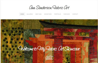 Fabric Artist Ann Sanderson