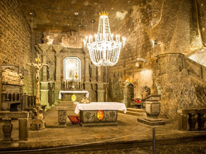 "This Exquisite ""Underground Cathedral"" Has Been Carved Entirely Out of Salt"