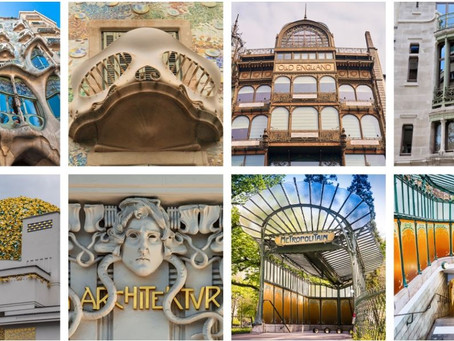 5 Art Nouveau Buildings That Embody the Elegance of This Architectural Style
