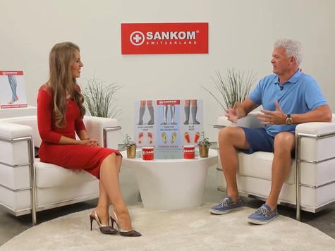 "Oksana Hosts the ""Blindfolded - the Ultimate Quality Test"" TV Show!"