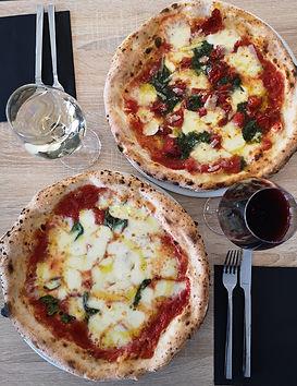 La Magherita et la Squisita du restaurant italien - pizzeria La Squisita à Villeneuve d'Ascq, près de Lille