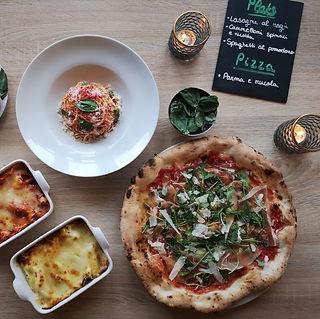 Pâtes et pizza de la pizzeria La Squisita à Lille