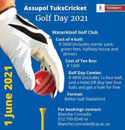 Assupol TuksCricket Golf Day