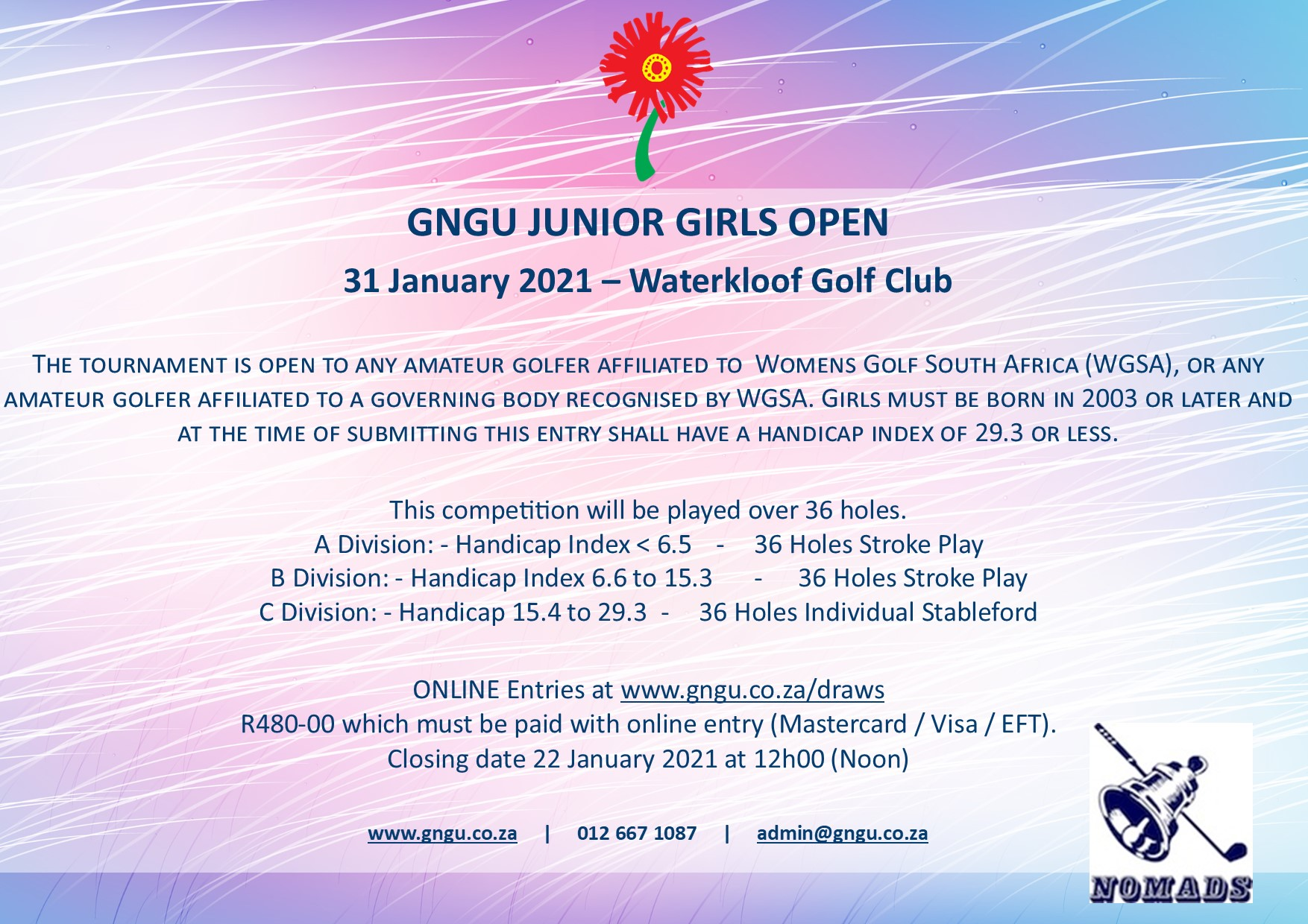 GNGU Junior Girls Open 2021