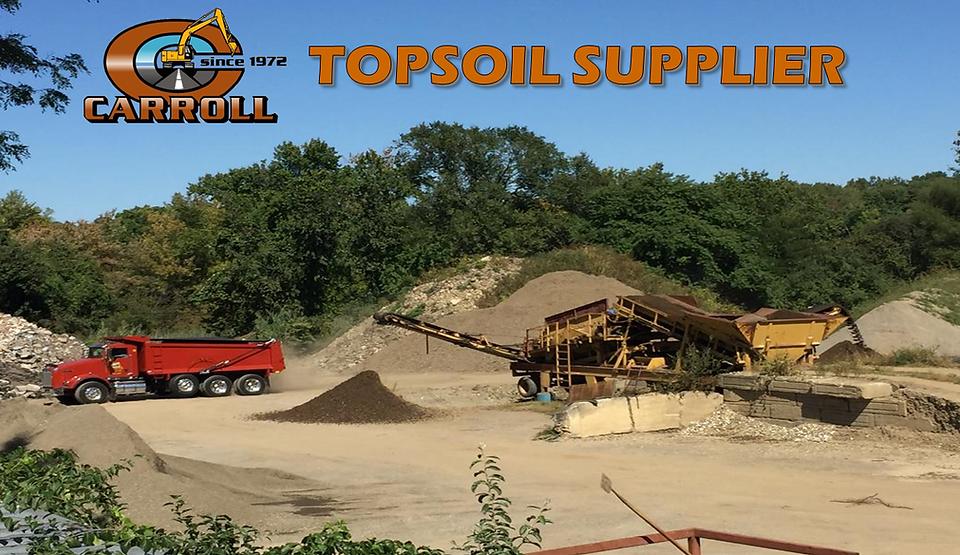 Topsoil Supplier | Carroll Construction | Danbury, Ridgefield - CT 06877