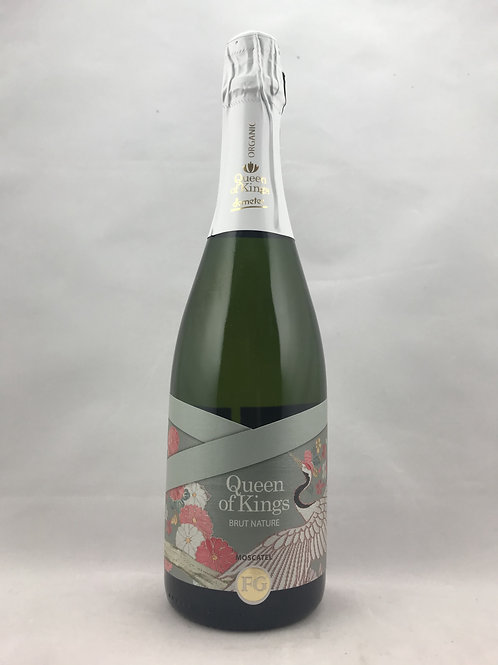 Queen of Kings Brut Nature Moscatel 2015