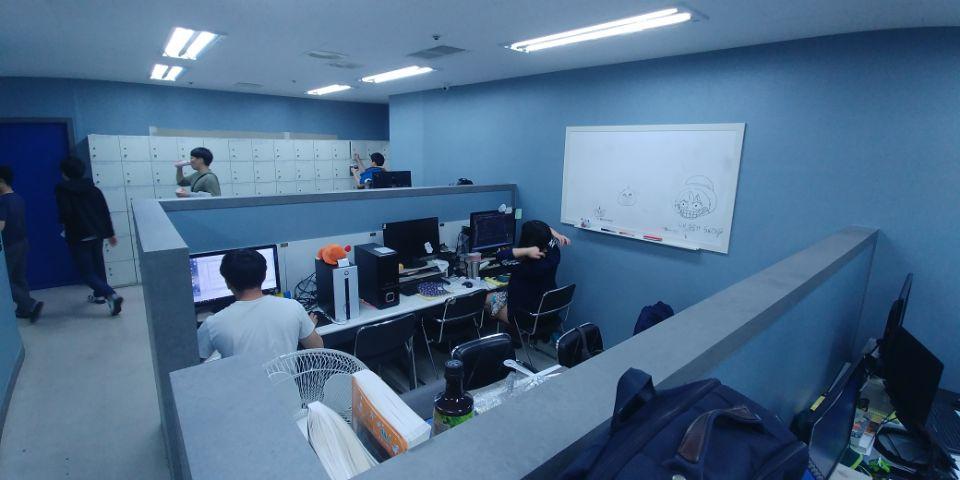 게임학원 자습실 포트폴리오실