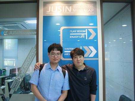 김정환 학생의 블루홀스튜디오에 게임프로그래머 취업을 축하합니다.
