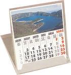 calendários de secretária
