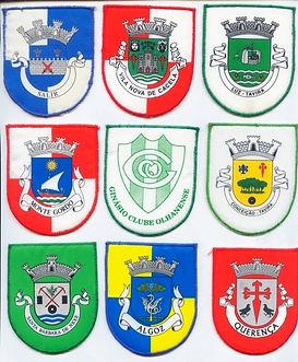 emblemas tecido