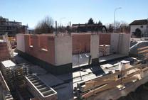 Baufortschritt Ende Februar 2020