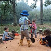primary children digging
