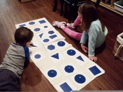 children geometry work