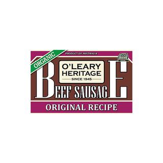 Organic Beef Sausage