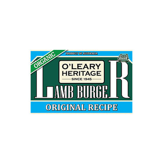 Organic Lamb Burger